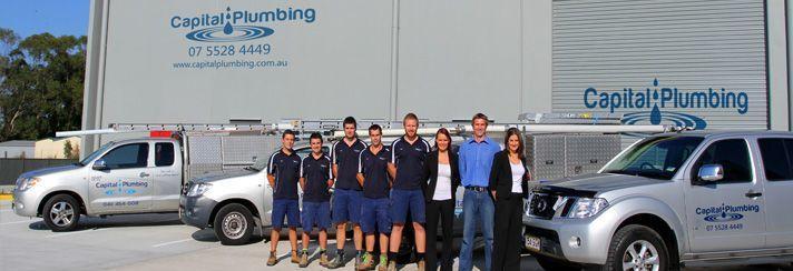 Capital Plumbing team