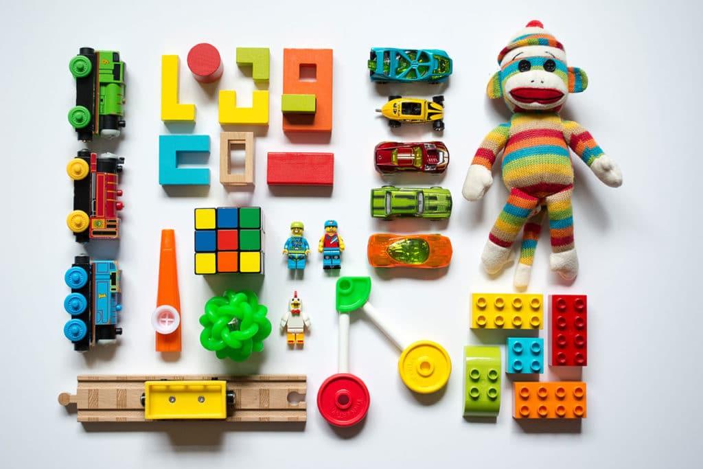 Kids toys blocking drains