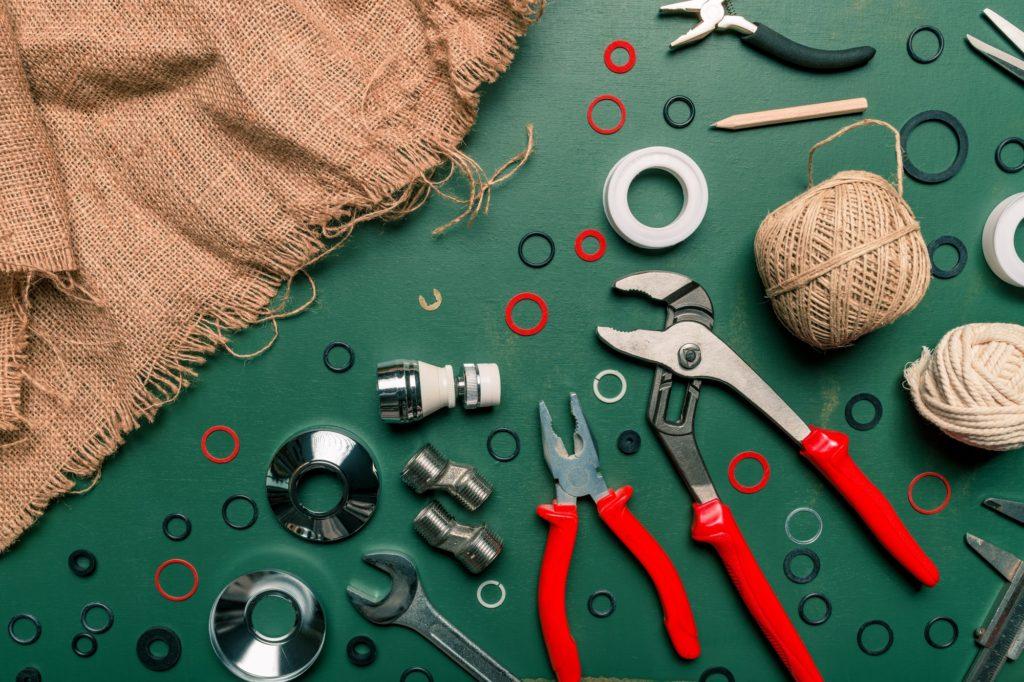 DIY plumbing tools
