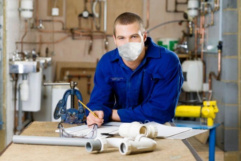 covid plumbers